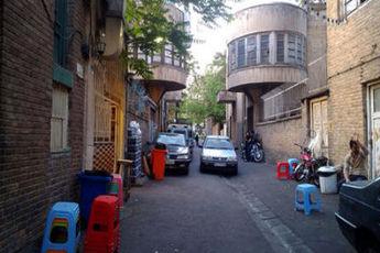 متفاوت ترین کوچه تهران + عکس