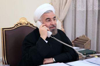 تماس تلفنی روسای جمهوری اسلامی ایران و فرانسه