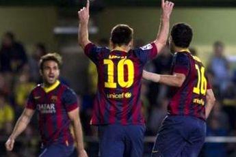 بارسلونا از شکست در خانه ویارئال گریخت