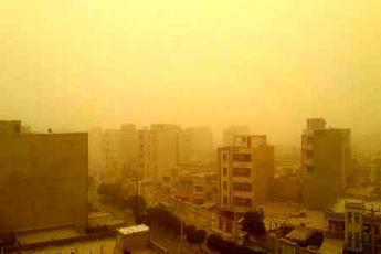 احتمال خیزش گرد و خاک در زابل و جنوب غرب کشور
