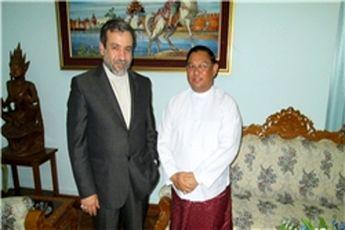 استقبال وزیر خارجه میانمار از پیشنهاد عراقچی