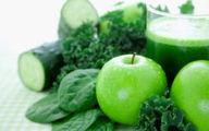 میوه های سبز رنگ بخورید