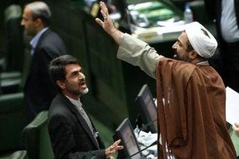 رفتارشناسی حامیان احمدی نژاد در جلسات رای اعتماد