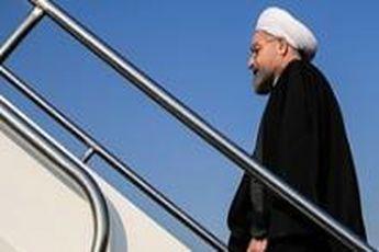 روحانی کابل را به مقصد تهران ترک کرد