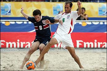عملکرد فوق العاده ی ساحلی باز های ایران آنها را به نیم نهایی جام جهانی باهاما رساند