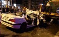 تصادف مرگبار پرشیا با تانکر آب شهرداری در گرگان
