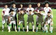 پیروزی تیم فوتبال نوجوانان در حضور وینگادا