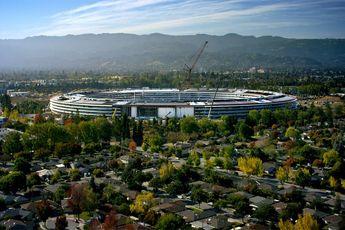 اپل پارک / روند تکمیل پروژه مقر جدید اپل / فیلم