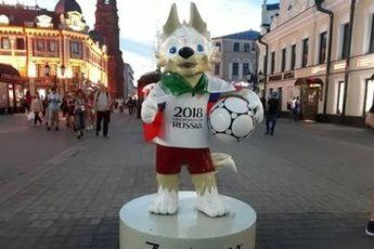 عروسک جام جهانی هم طرفدار ایران شد