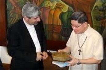 دیدار مهمانپرست با مقامات فیلیپینی