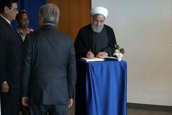 روحانی با دبیر کل سازمان ملل دیدار و گفتگو کرد