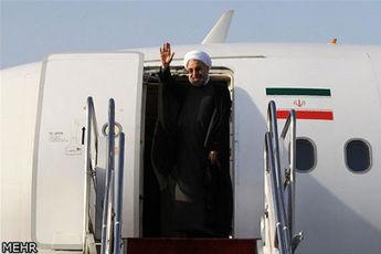 روحانی به منظور شرکت در جشن جهانی نوروز وارد کابل شد