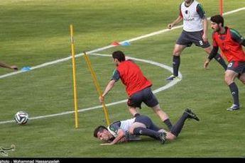 سجادی در تمرین تیم ملی حاضر شد