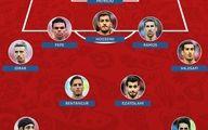 سه بازیکن ایران در تیم منتخب جام جهانی