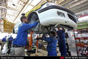 افزایش تولید در دو غول خودروسازی ایران