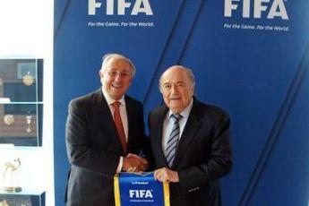 دیدار رؤسای فدراسیون های جهانی والیبال و فوتبال