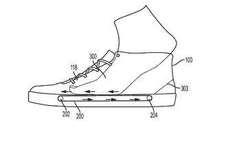 کفش مجهز به تردمیل برای تسهیل تمرینات ورزشی