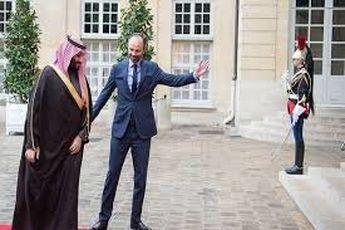 دیدار ولیعهد سعودی با نخستوزیر فرانسه