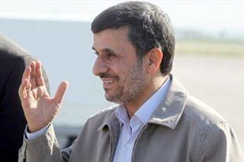 حاشیه های بازگشت احمدی نژاد به تهرا