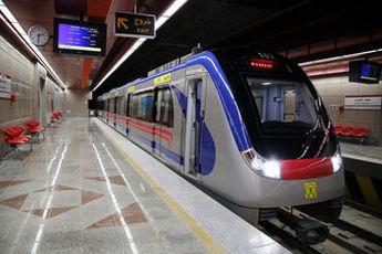 خدامت دهی ویژه مترو تهران برای مسابقه فوتبال استقلال-ذوب آهن