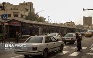 خیزش گرد و خاک در تهران