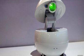 رونمایی از روبات جالب پاناسونیک / فیلم و عکس
