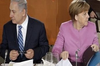 دیدار مرکل و نتانیاهو