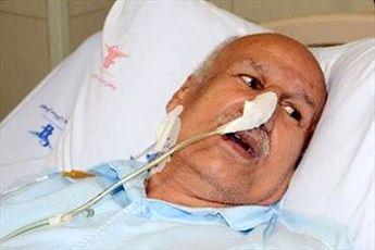 عیادت اعضای تیم فوتبال نوجوانان ایران از غلامحسین مظلومی