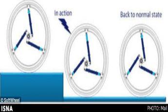 چرخی با قابلیت حرکت در پله ها + عکس