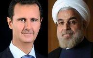 روحانی: ملت ایران همچنان در کنار ملت سوریه است / بشار اسد: حملات تاثیری بر روحیه مردم در مبارزه با تروریست ها ندارد