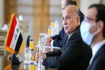 سفر «فؤاد حسین»، وزیر خارجه ی عراق به ایران