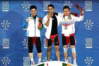 نخستین مدال طلای کاروان ایران