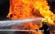 آتش بازی بچه ها حادثه ساز شد