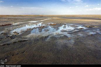 عکس: حال دریاچه ارومیه خوب نیست!