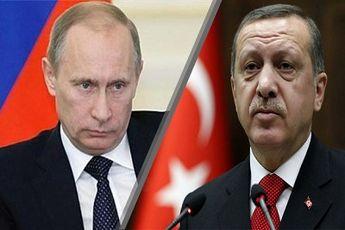 تماس تلفنی پوتین و اردوغان درمورد تحولات سوریه