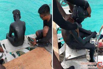 تخریب مجسمهها در مالدیو به دستور دولت