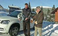 تجهیزات جالب و اختراعی برای رانندگی در برف / فیلم
