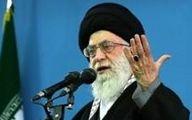 سخنرانی رهبر معظم انقلاب در رواق امام خمینی حرم رضوی