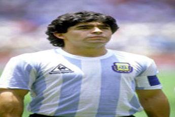 مارادونا تنها فوتبالیستی که ۲ بار رکورد زد