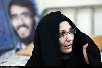 تشکر مادر شهید خلیلی از رهبر انقلاب
