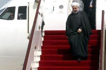 رئیس جمهوری کابل را به مقصد تهران ترک کرد