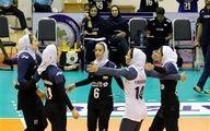 دومین برد آسیایی دختران والیبالیست در کاپ آسیا