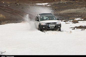 رشت  بارش برف مناطقی از رودبار استان گیلان را سفیدپوش کرد