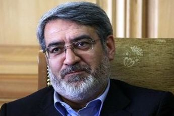 بازدید وزیر کشور از پاسگاه های پلیس راه استان خراسان شمالی