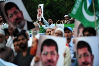 تجمع حمایت از مرسی در پاکستان