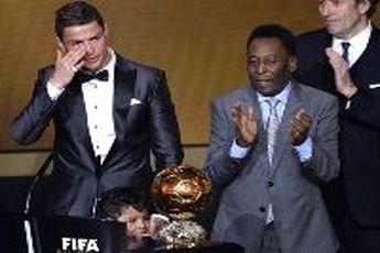 رونالدو: حالا به دنبال سومین توپ طلا هستم