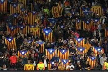 مجازات سنگین بارسلونا برای استقلال طلبی در لیگ قهرمانان
