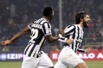 پیروزی یوونتوس مقابل جنوا با گل دیرهنگام پیرلو