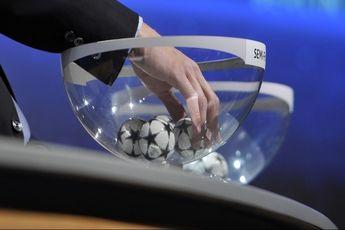 مراسم قرعه کشی مرحله یک چهارم نهایی لیگ قهرمانان اروپا / فیلم