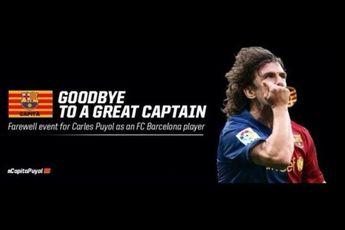 برنامه ویژه بارسلونا برای خداحافظی پویول